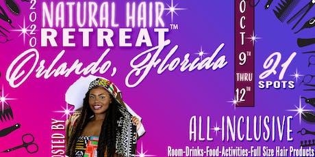 2020 Natural Hair Retreat tickets