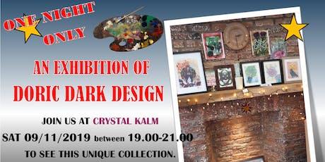 Doric Dark Design Exhibition tickets