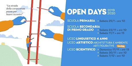 Open Day Licei La Traccia biglietti