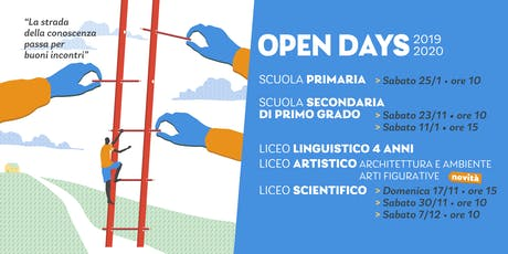"""Open Day Licei """"Lezioni aperte"""" La Traccia biglietti"""