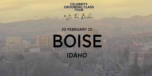 BOISE - Celebrity Grooming Class by JC Tha Barber