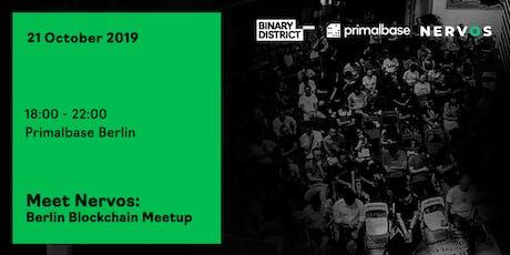 Meet Nervos: Berlin Blockchain Meetup tickets