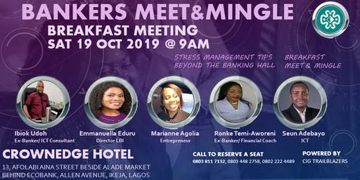 BANKERS MEET & MINGLE BREAKFAST MEETING