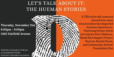 Let's Talk About It: The Hueman Stories tickets