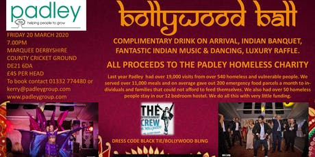 Padley Bollywood Ball 2020 tickets