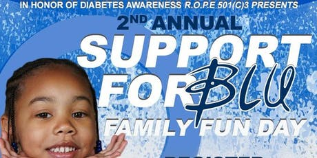 2nd Annual Support For Blu Family Fun Day Diabetes Awareness  tickets