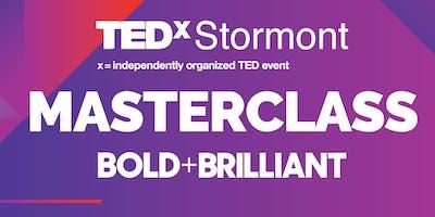 OCN NI TEDx Stormont Masterclass - Bold + Brilliant