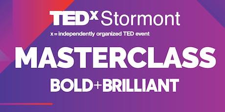 OCN NI TEDx Stormont Masterclass - Bold + Brilliant tickets