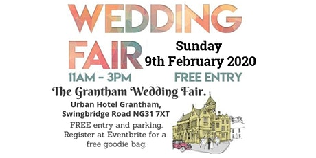 Grantham Urban Hotel Wedding Fair tickets