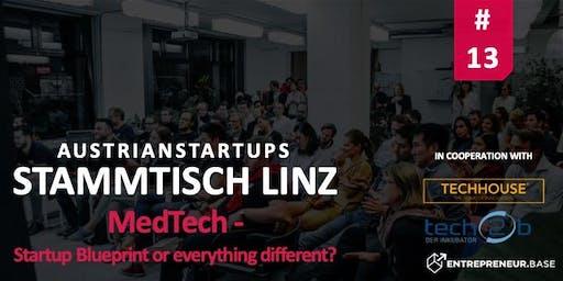 AustrianStartups Stammtisch Linz #13 - MedTech