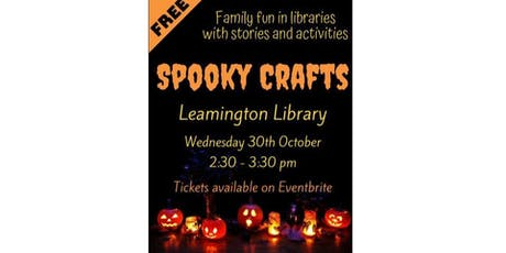 Spooky Crafts at Leamington Library tickets