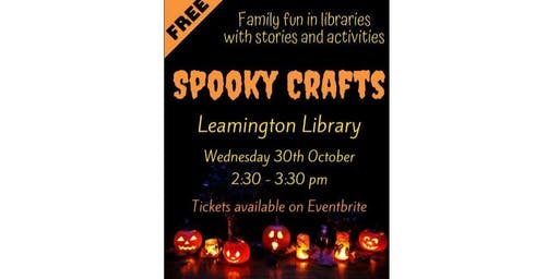 Spooky Crafts at Leamington Library