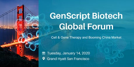 GenScript Biotech Global Forum tickets