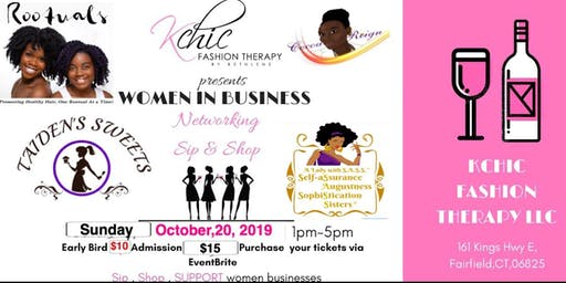 Women in business networking Sip and shop part 2