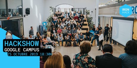 HACKSHOW | WEB + DATA + UX | 25 de Octubre tickets