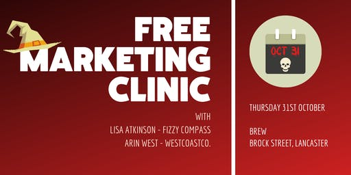 Free Drop-In Marketing Clinic