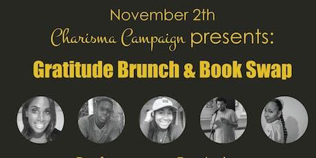 Gratitude Brunch & Book Swap tickets