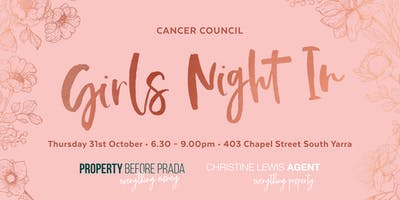 Cancer Council Girls Night In