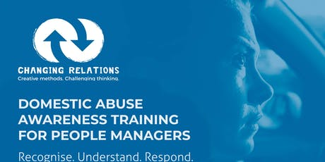 Recognise|Understand|Respond|Domestic Abuse Awareness Training|Darlington tickets