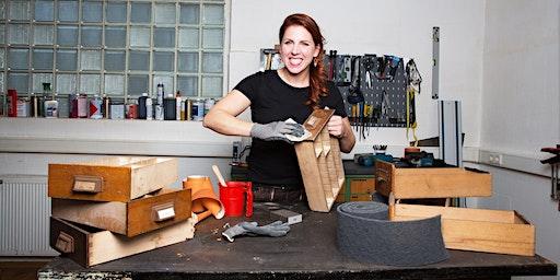 FFM: Möbelaufarbeitung – Modul 1: Oberflächen schleifen, beizen, ölen etc.