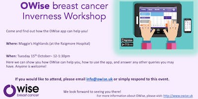 OWise breast cancer workshop
