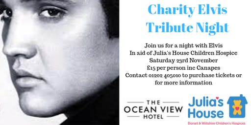 Charity Elvis Tribute Night