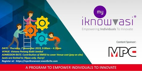 FREE: MPC MYiKnowvasi- Certified Innovation Action Learning Program. tickets