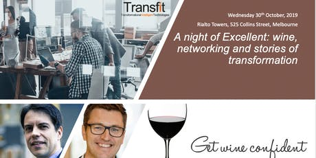A night of Excellent: wine, networking and stories of transformation tickets