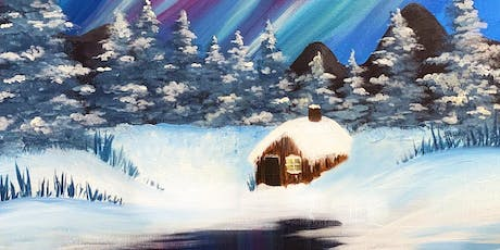Northern Lights 'Paint, Prosecco & Pies' Brush Party - Wraysbury tickets