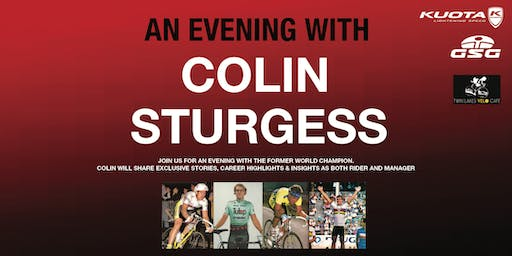 An Evening with Colin Sturgess