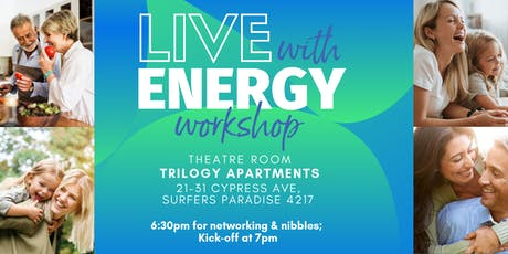 Live with Energy Workshop tickets