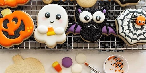 Halloween Beginner Cookie Class - Spring Hill
