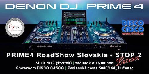 Denon DJ PRIME4 RoadShow Slovakia – STOP 2 (Lučenec)