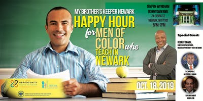 Happy Hour for Men of Color Who Teach in Newark
