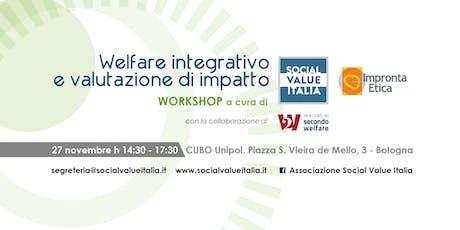 Welfare integrativo e valutazione di impatto biglietti