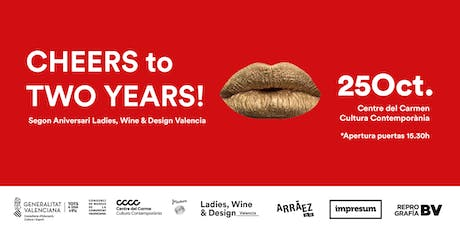 2º Aniversario Ladies, Wine & Design entradas