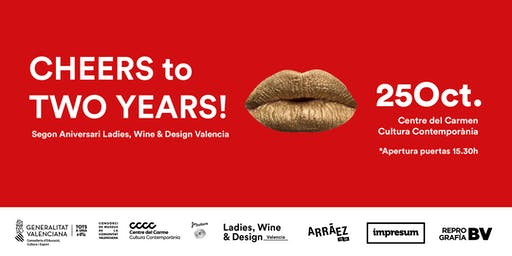 2º Aniversario Ladies, Wine & Design