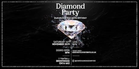 DJ Karlos.K Exclusive Birthday: Diamond Party tickets