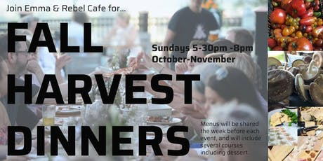 Fall Harvest Dinner Series tickets