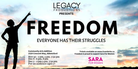 Freedom - An Original Theatrical Experience! tickets