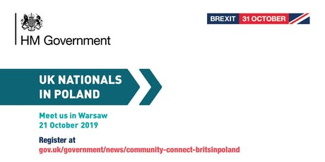 Community Connect - #BritsinPoland | Warsaw tickets