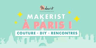 Makerist à Paris - Couture, DIY et Rencontres