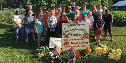 Bethany Community Gardens End of Season Celebration Dinner (pitch-in)