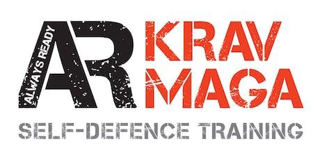AR Krav Maga Dereham - 3 Adult Trial Classes - Monday's tickets
