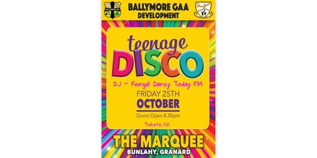 Teenage Disco tickets