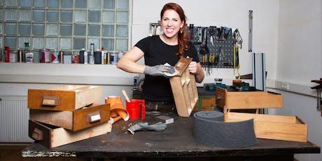 FFM: Möbelaufarbeitung – Modul 4: Werkzeuge & kleine Möbelreparaturen – DIY Tickets