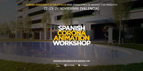 Curso Certificado de Corona Render: Spanish Corona Animation Workshop entradas