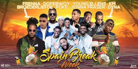 SPAIN BREAK WEEK 2019 entradas