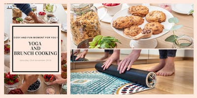 Yoga and Brunch Cooking