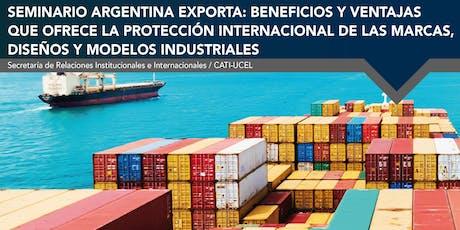 Seminario: Argentina Exporta entradas